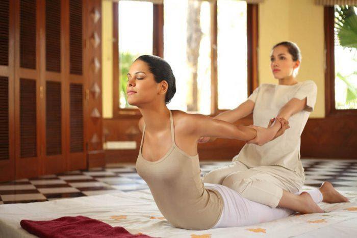 Sống khỏe, giảm cân cùng massage Thái